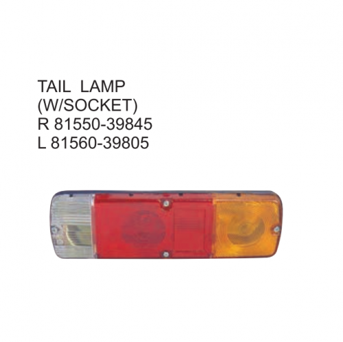Toyota Hiace RH20 1980-1983 Tail lamp 81550-39845 81560-39805
