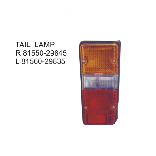 Toyota Hiace RH20 1980-1983 Tail lamp 81550-29845 81560-29835