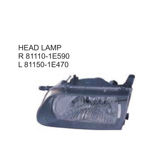 Toyota Corolla 5D TAZZ South Africa Type 2001 Head lamp