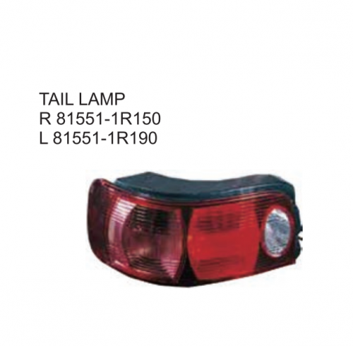 Toyota Corolla 5D TAZZ South Africa Type 2001 Tail lamp