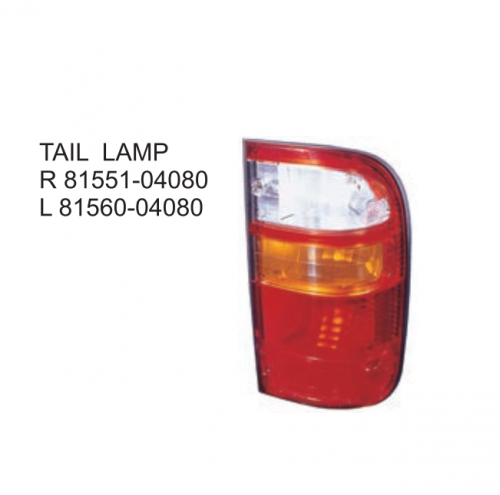 Toyota Hilux 2001 Tail lamp 81551-04080 81560-04080